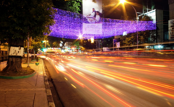 Jalan Raden Saleh, a road to Merdeka Walk (photo credit: joko guntoro)