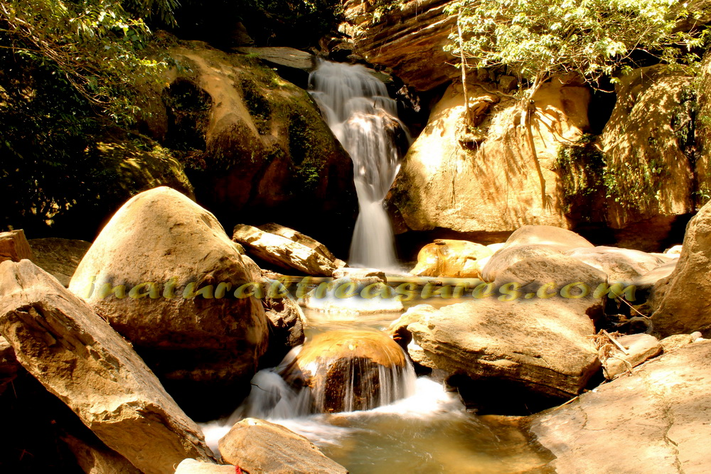 waterfall_air terjun pelangi_north sumatera_indonesia_inaturaltreasurescom
